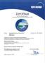 Zertifikat über die Anerkennung als Fachbetrieb nach Wasserhaushaltsgesetz (WHG)